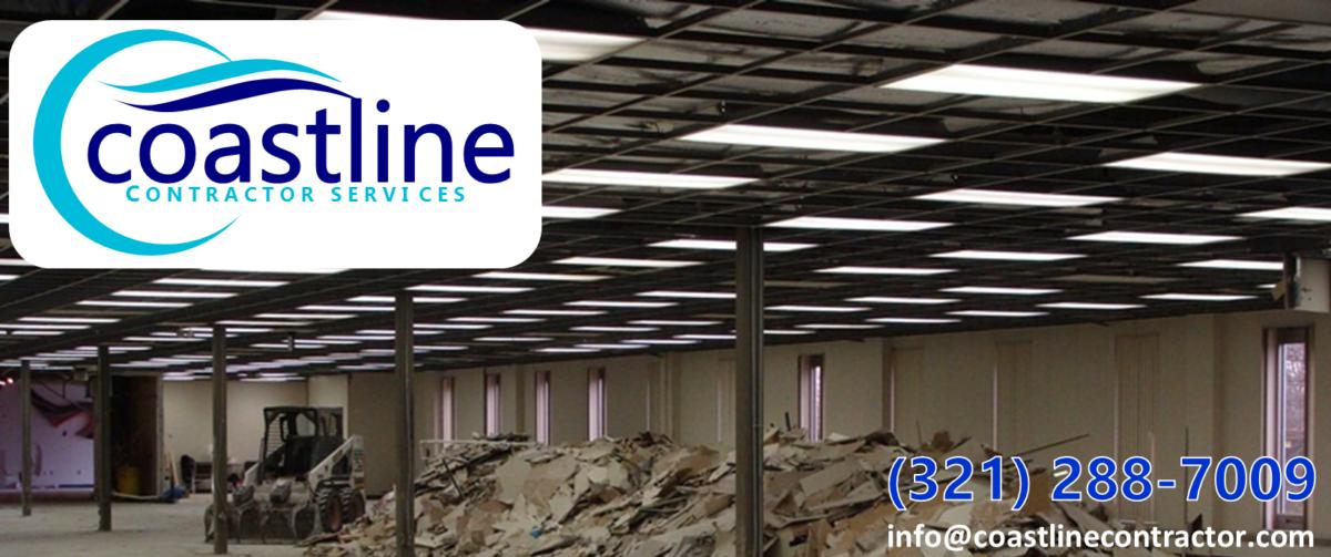 Coastline Contractor Services LLC – Demolition and Acoustical